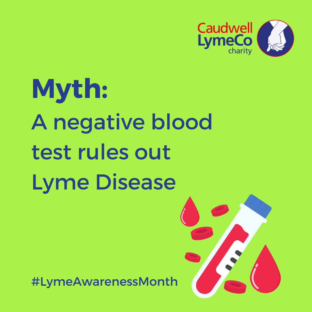 Myth: A negative blood test rules out Lyme Disease